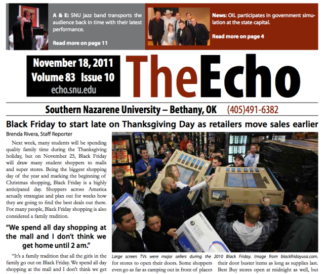 The Echo Calls For Reevaluation
