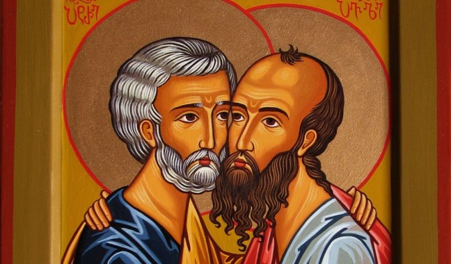 Peter and Paul... (Not pictured: Mary)
